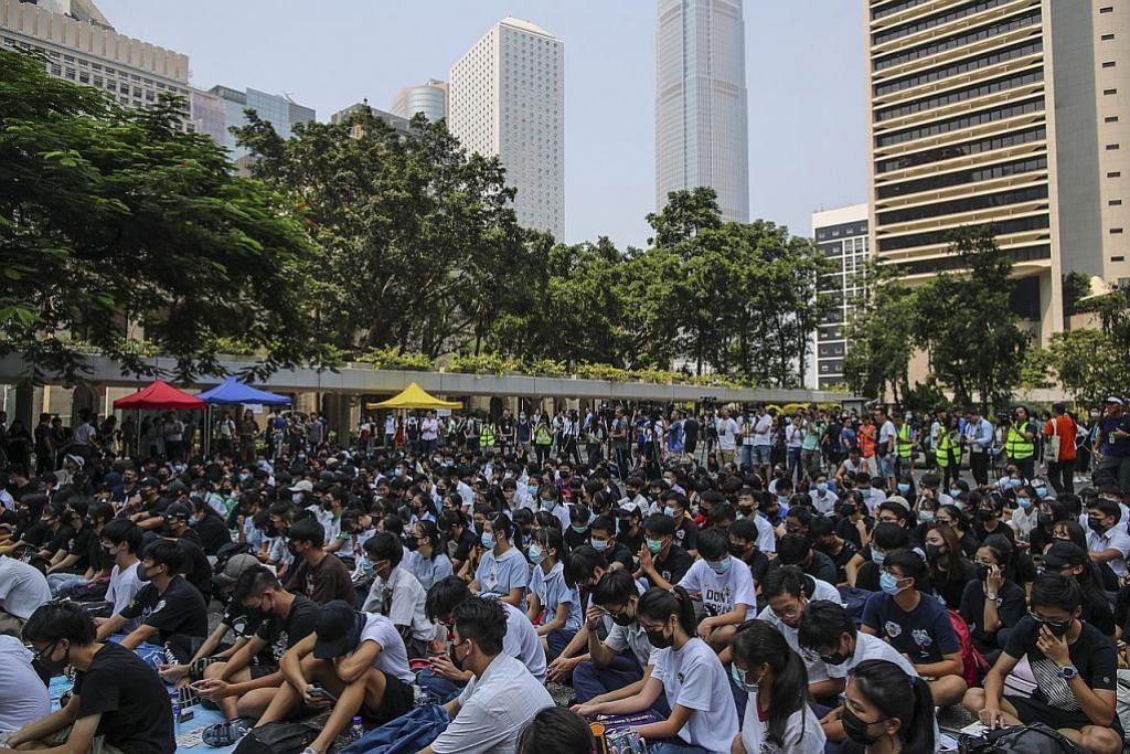 HK berjaga-jaga jelang ulang tahun ke-70 China