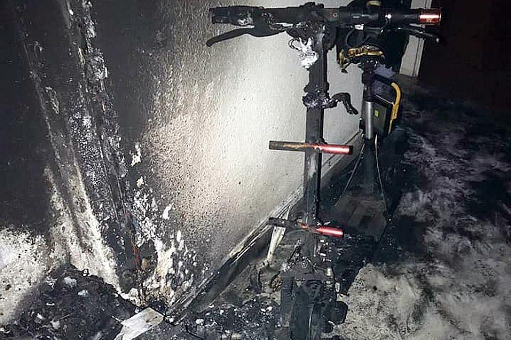 Kebakaran disyaki dari PMD: Lelaki tua dibawa ke hospital