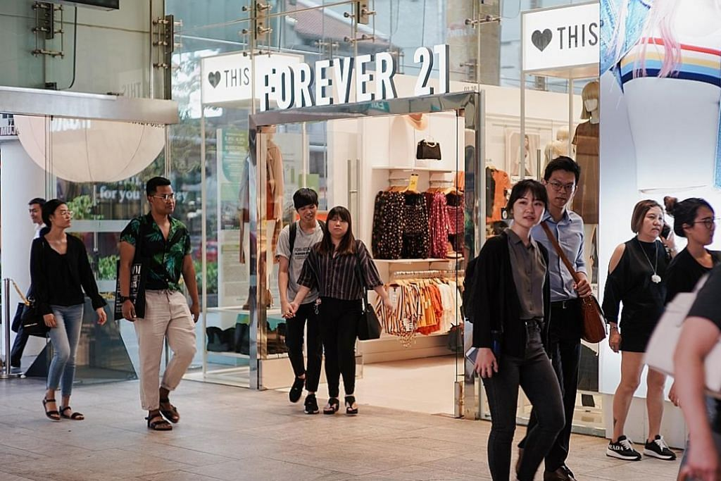 Peruncit fesyen Forever 21 isytihar muflis