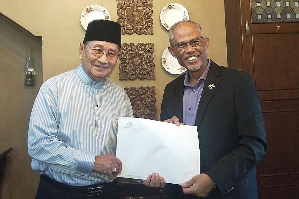 Masagos undang Brunei hadiri sidang masyarakat gemilang tahun depan