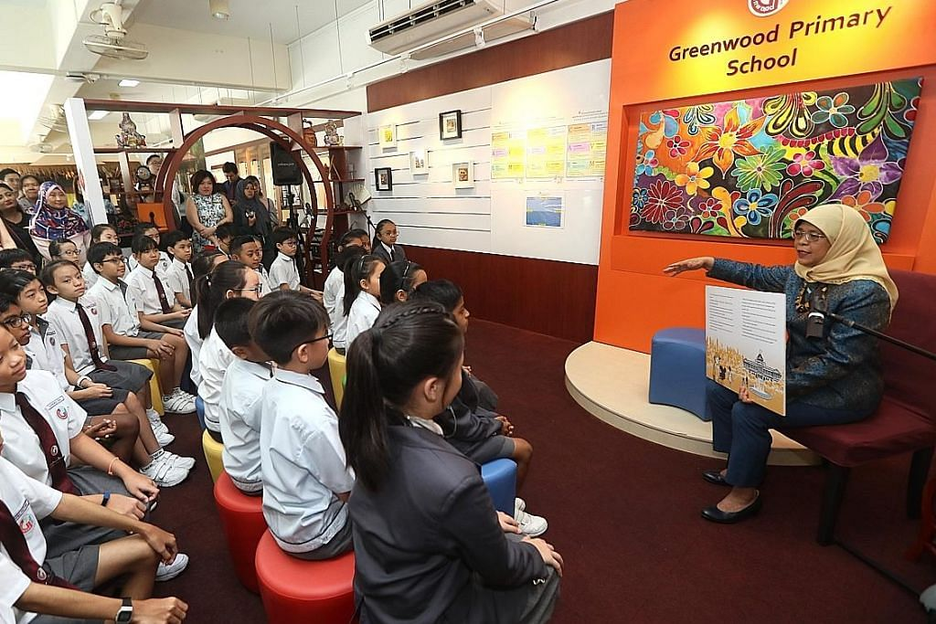 Presiden Halimah kongsi kisah Istana
