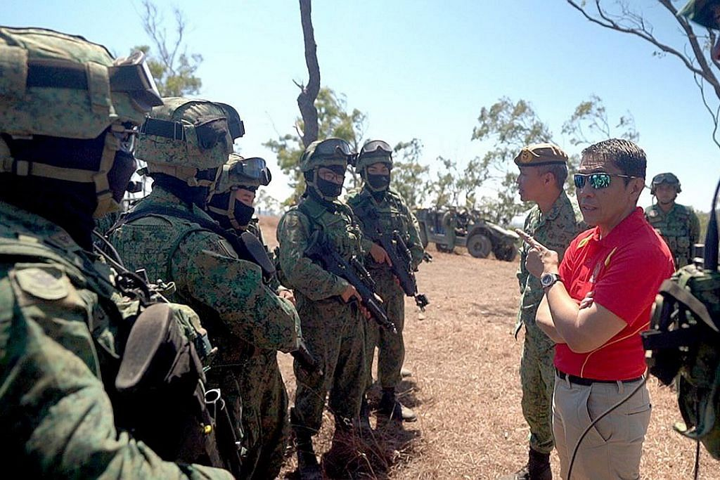 Australia sedia latihan ketenteraan realistik bagi S'pura