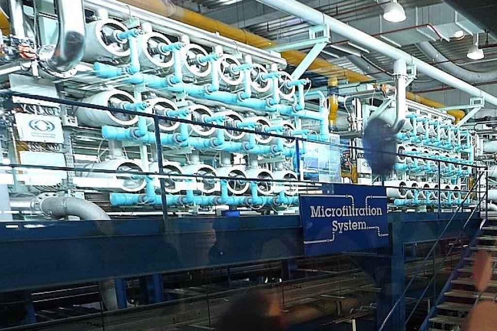 Air paip SG 'bebas mikroplastik'