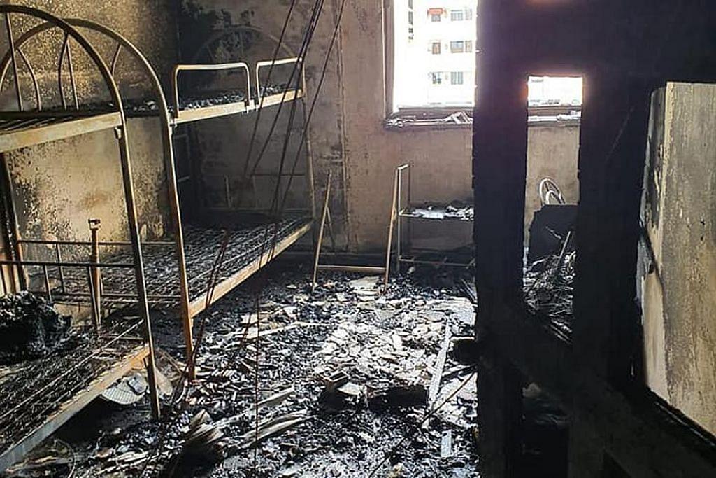 Lelaki, bayi cedera ekoran flat terbakar disyaki libatkan PMD