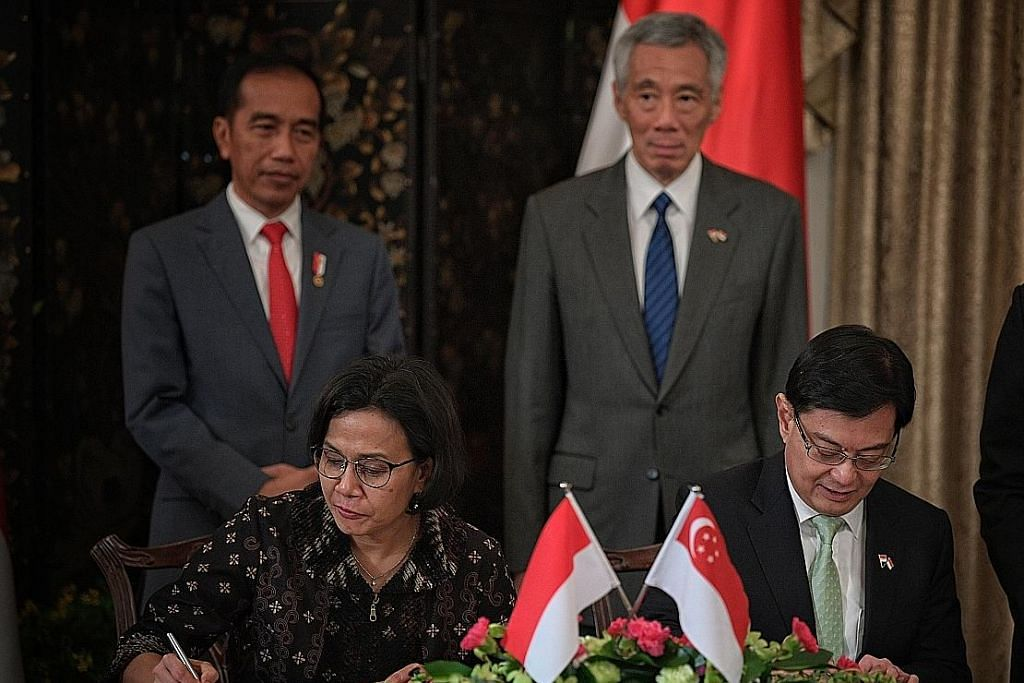 S'pura-Indonesia meterai MOU tukar data elektronik permudah dagang