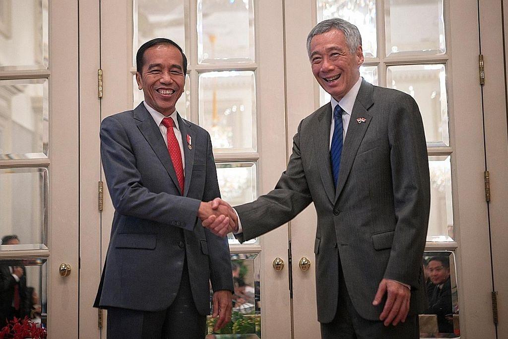 PM Lee: Hubungan dua hala S'pura-Indonesia kukuh