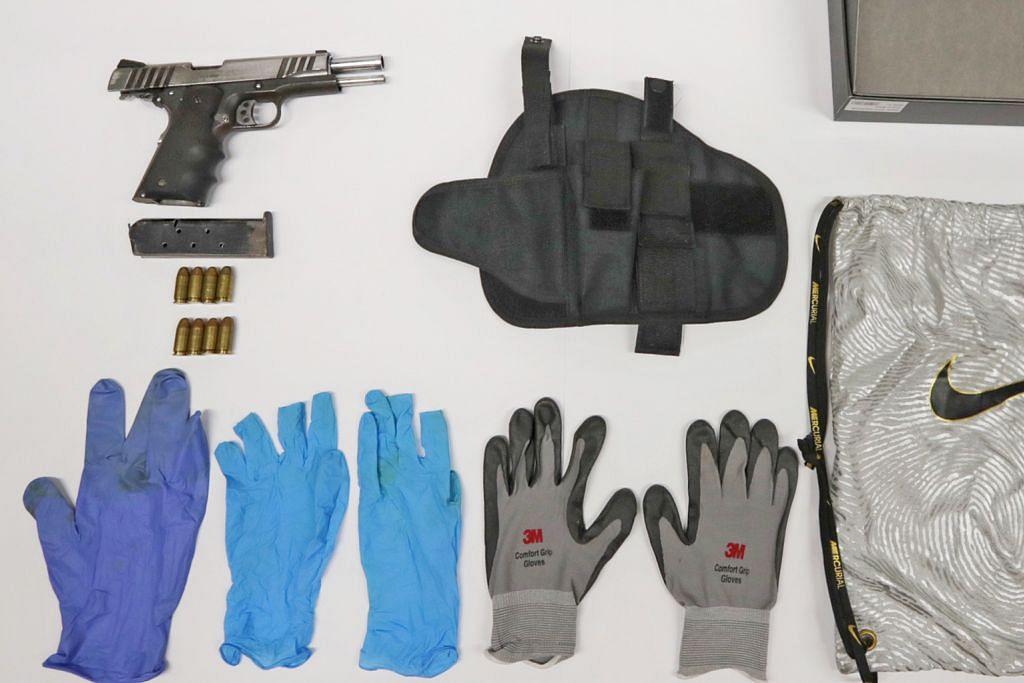 Dua lelaki disyaki pesalah dadah diberkas miliki pistol