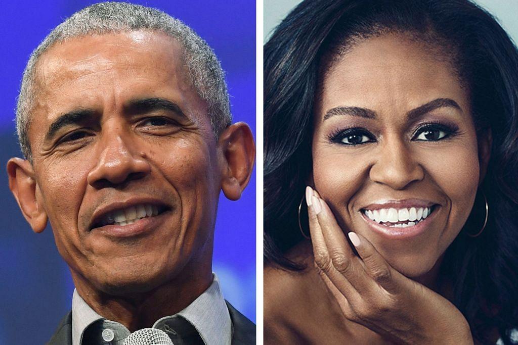 Obama, isteri bakal beri ceramah di S'pura