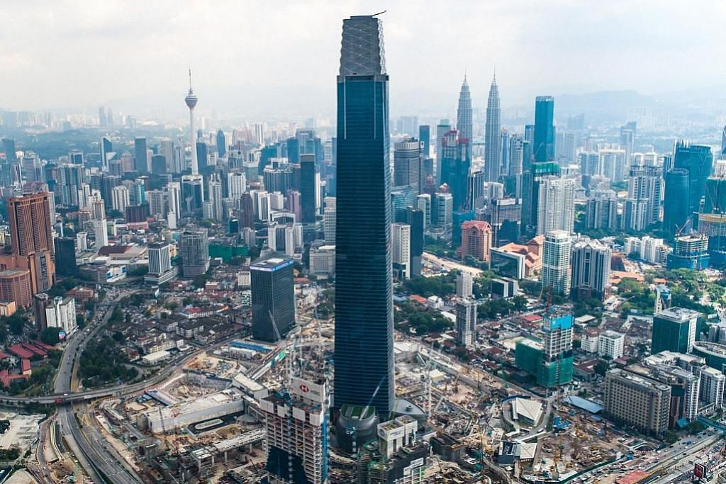 Exchange 106 atasi Menara Berkembar Petronas sebagai bangunan tertinggi M'sia