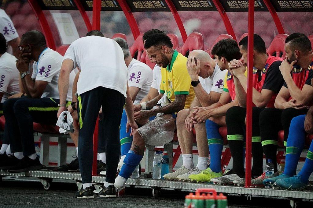 Samba Brazil tidak menjadi, sekali lagi hanya mampu seri