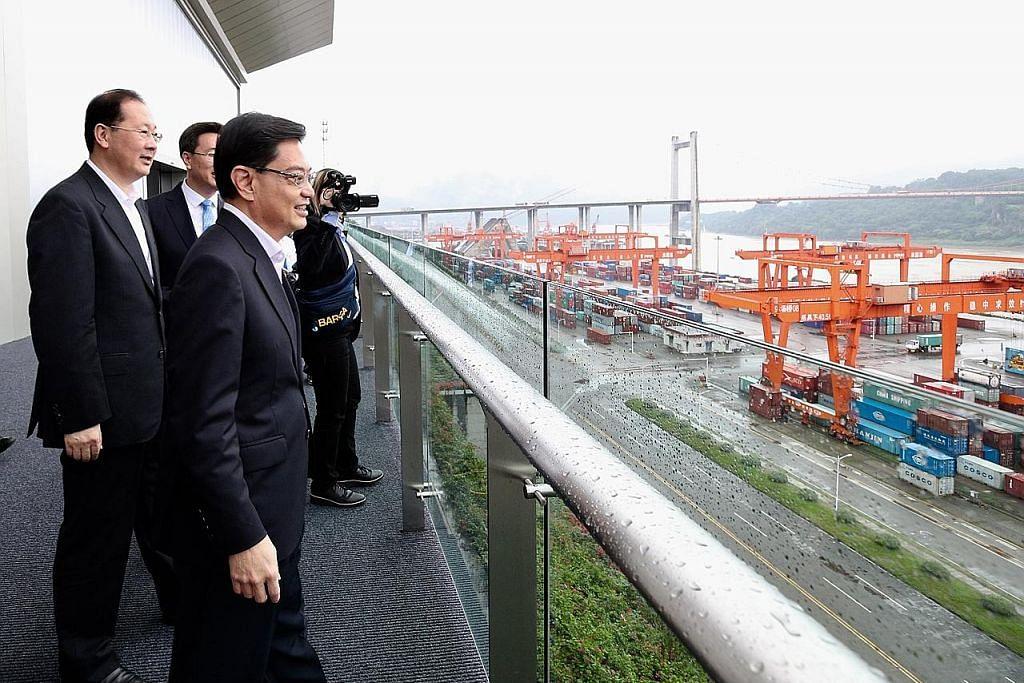 Peluang S'pura, China tingkat hubungan, kerjasama dua hala