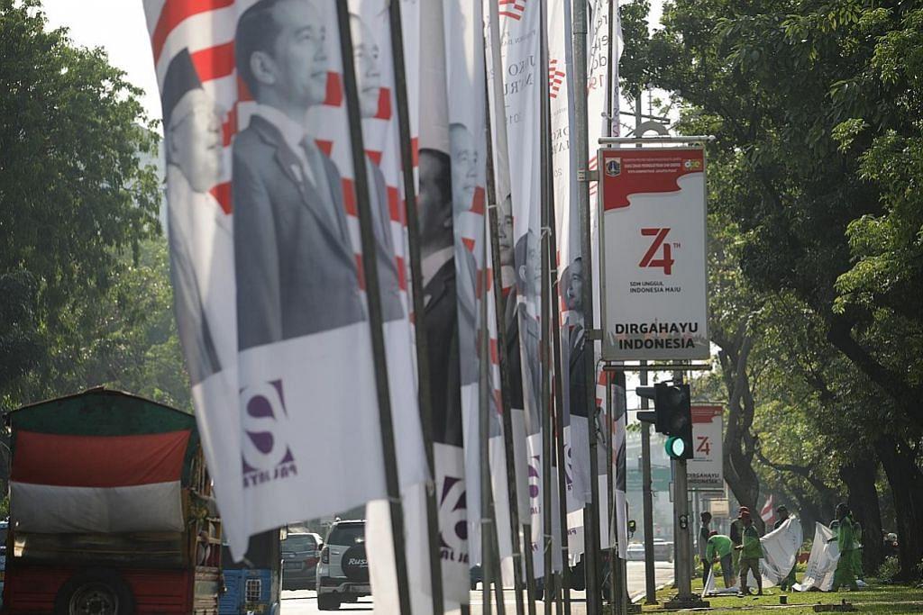 UPACARA ANGKAT SUMPAH PRESIDEN INDONESIA PM Lee, pemimpin dunia bakal serikan majlis angkat sumpah Presiden Jokowi petang ini