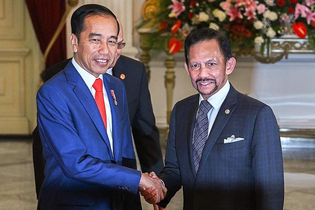 S'pura, Indonesia luas kerjasama dua hala UPACARA ANGKAT SUMPAH PRESIDEN INDONESIA