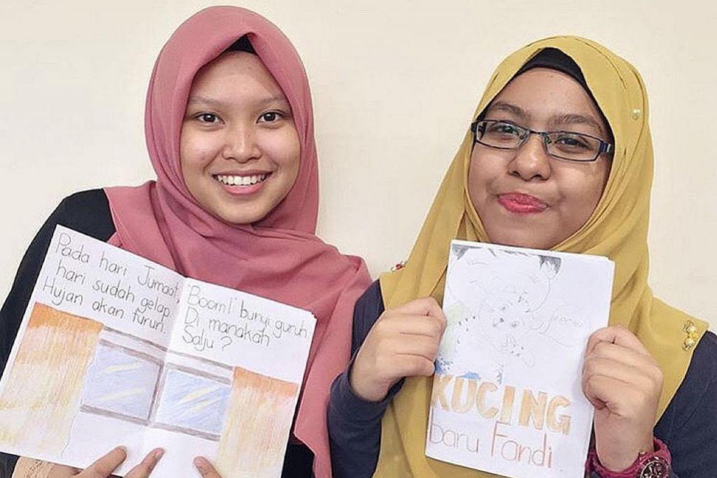 Dua guru pelatih terbit buku untuk kekanak