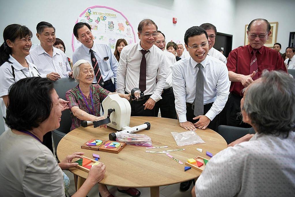St John buka pusat jagaan demensia pertama