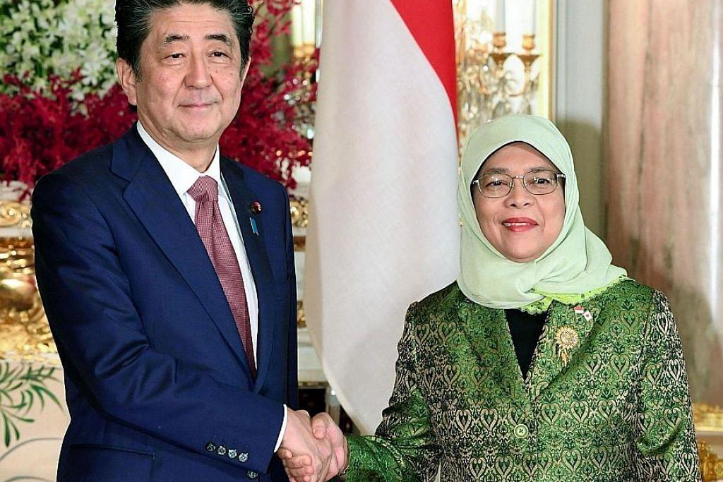 Presiden Halimah tokoh contoh: Abe