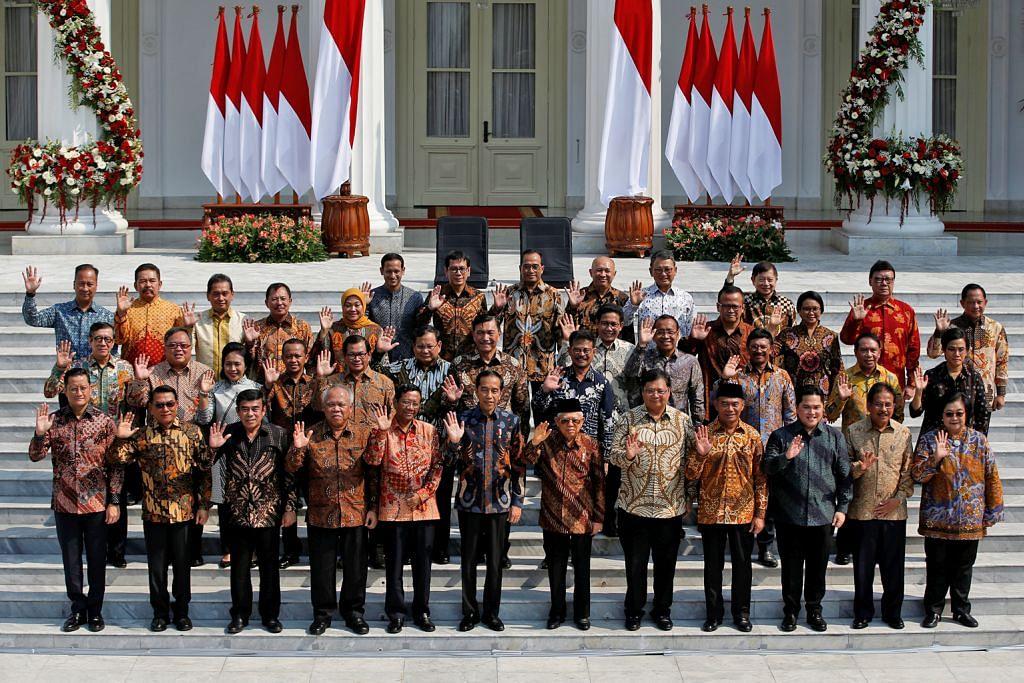Presiden Jokowi bentang Kabinet Indonesia Maju