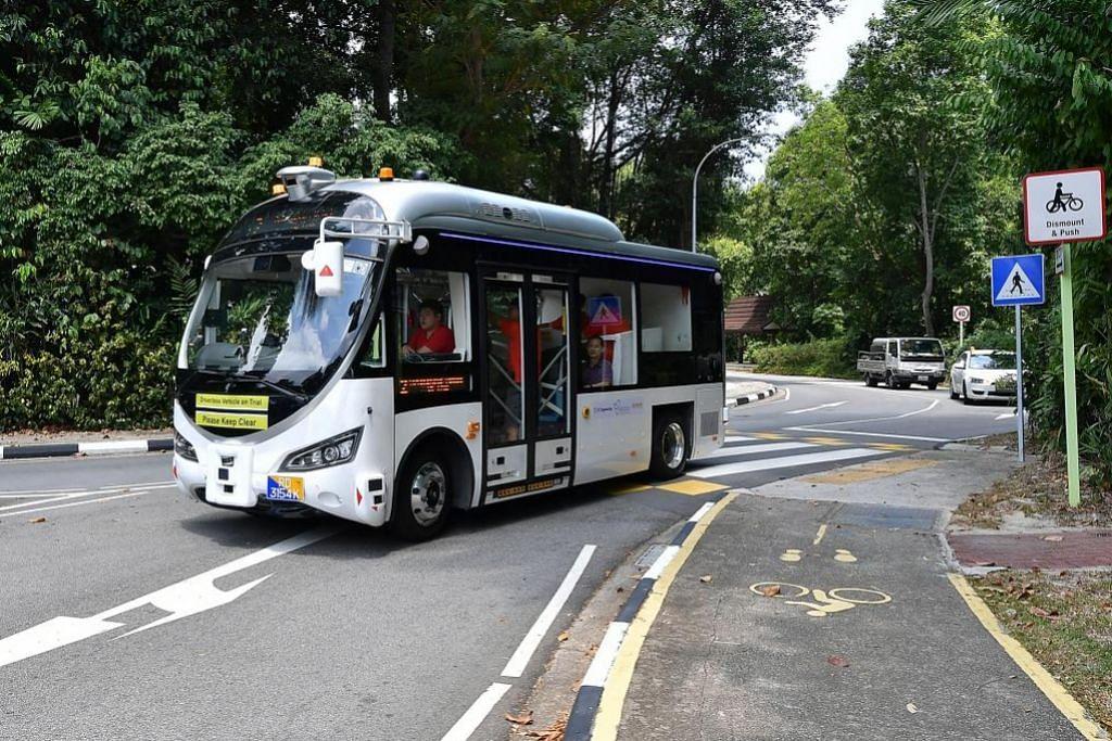 Kawasan ujian bas autonomi diperluas