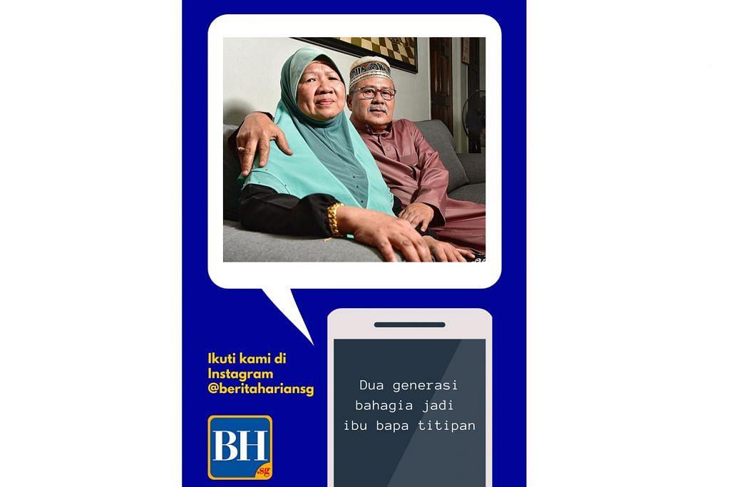 Ibu bapa titipan dua generasi...