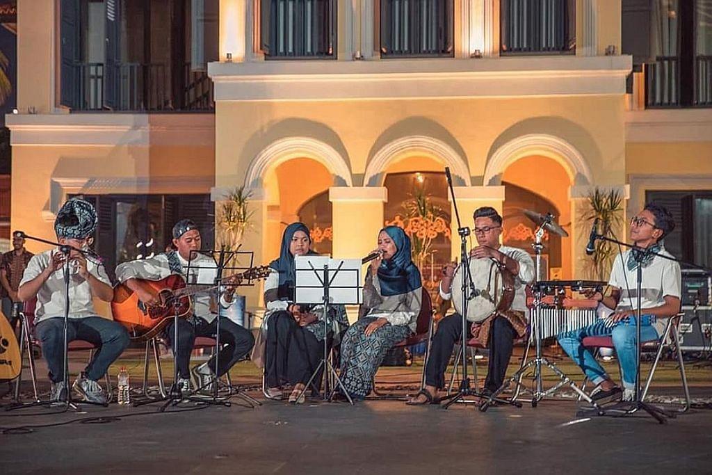 Alunan Akustiqsg gabung irama moden dan tradisional