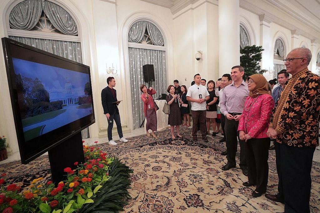 Terokai Istana secara lebih interaktif melalui teknologi AR