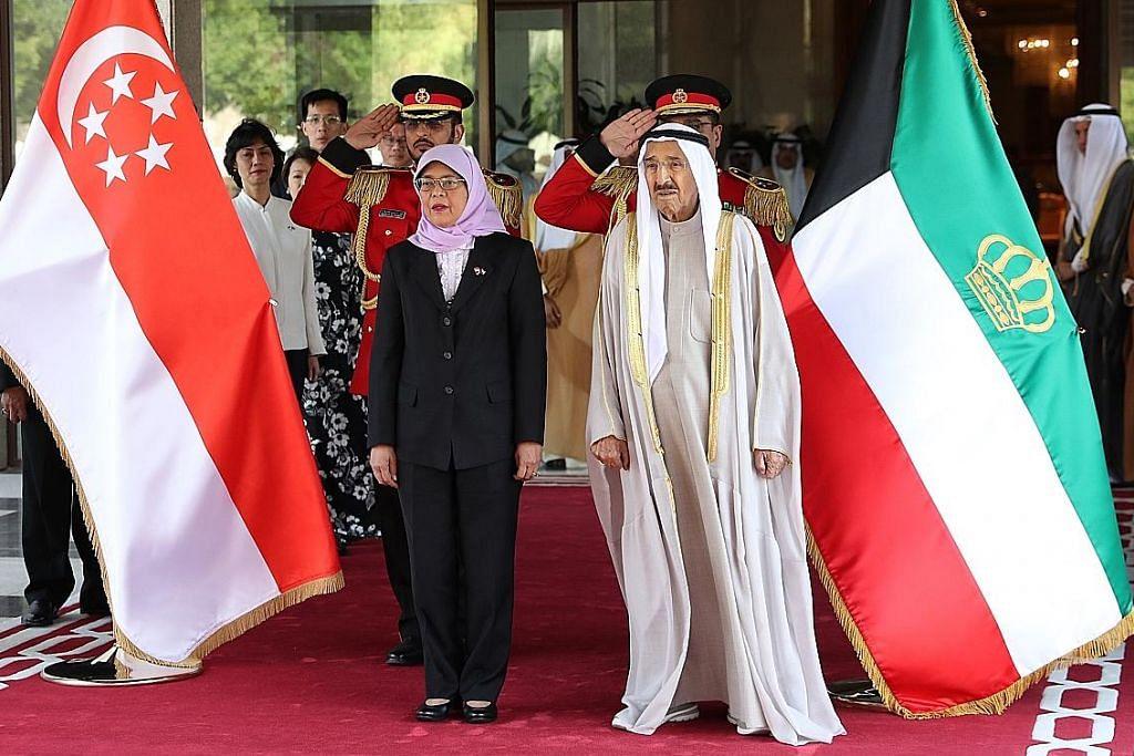 Hubungan S'pura-Kuwait mesra