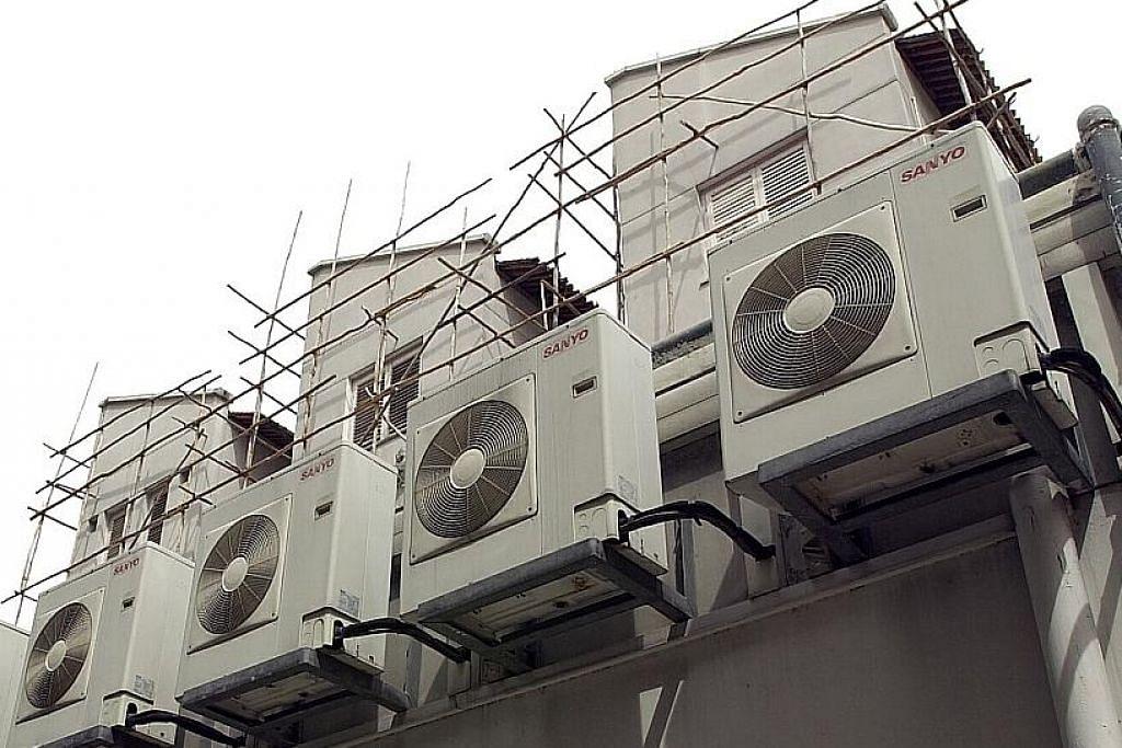 Pendingin udara bangunan, kediaman antara penyumbang pemanasan global