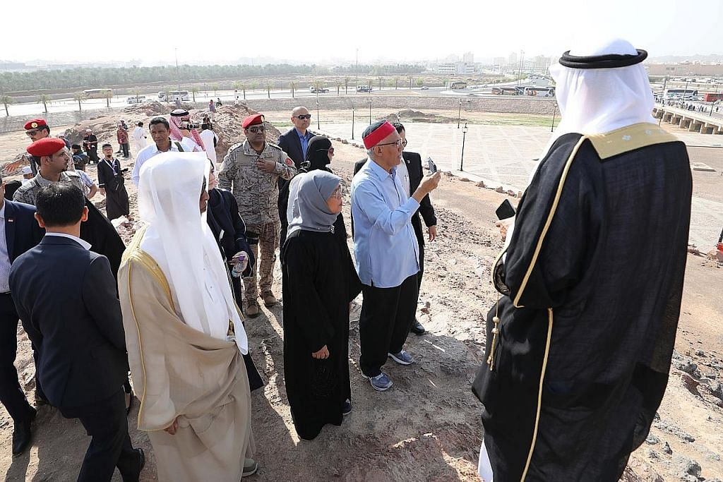 Presiden Halimah lawat tempat bersejarah sebelum ke Riyadh