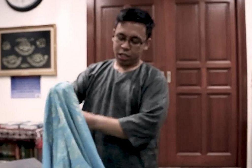 Cara betul pakai baju Melayu