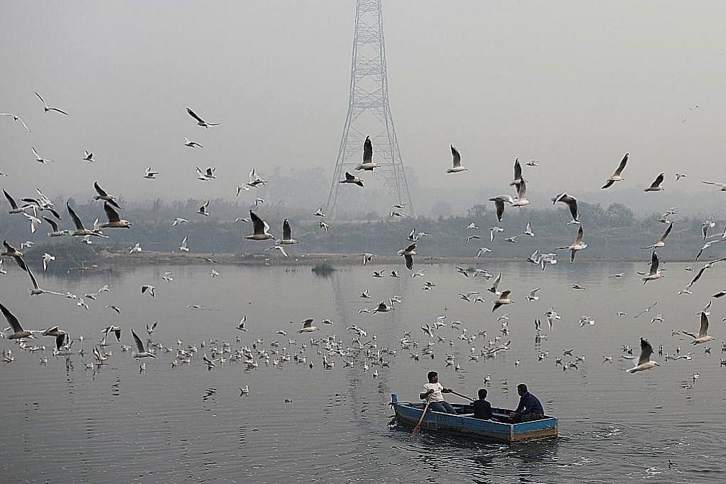 Jerebu cecah paras bahaya 497 di New Delhi