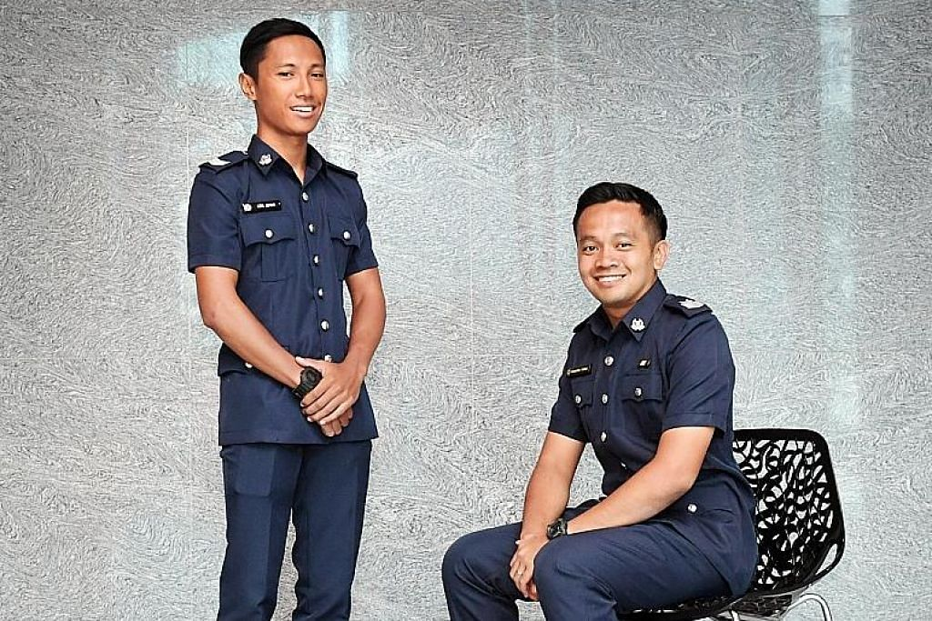 Tindakan pantas pegawai polis tangani api dipuji