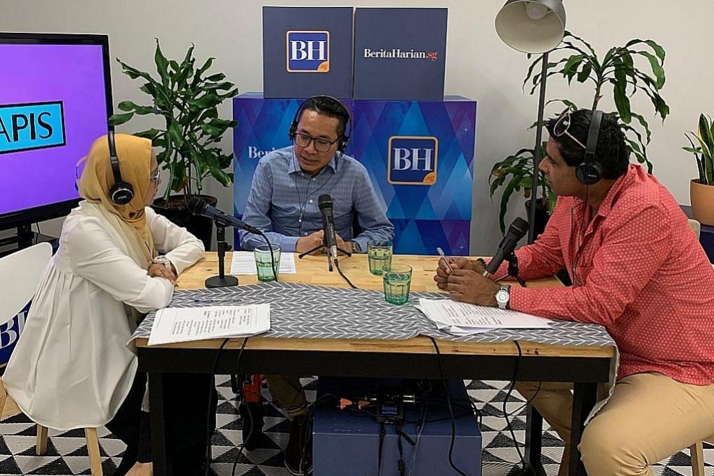 Separuh pendengar podcast BH berusia 23-35 tahun