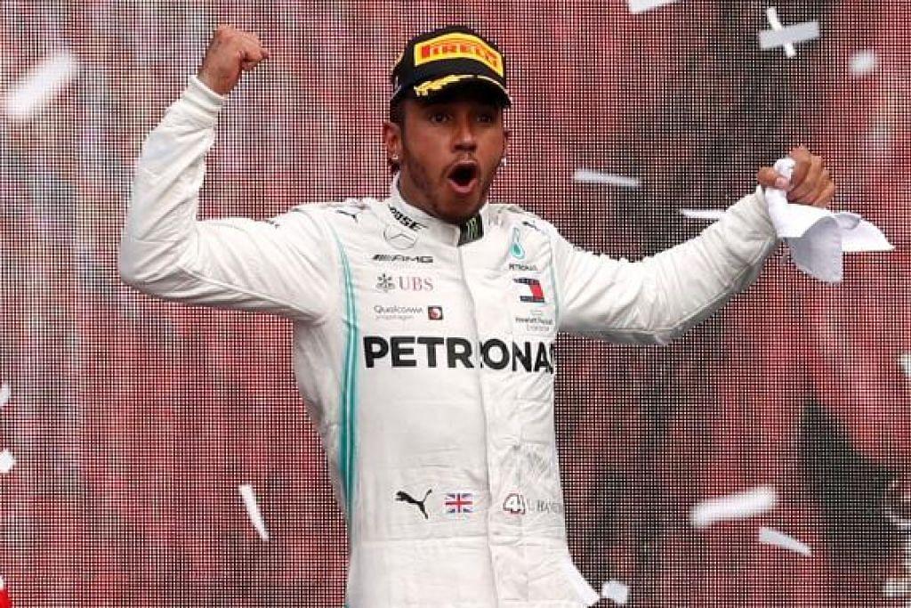 Lewis Hamilton pelumba F1 paling hebat?