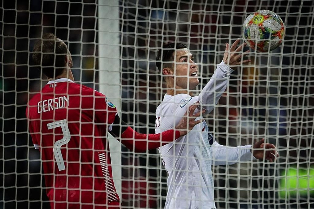 Gol ke-99 Ronaldo bantu Portugal ke Euro 2020; England mudah atasi Kosovo
