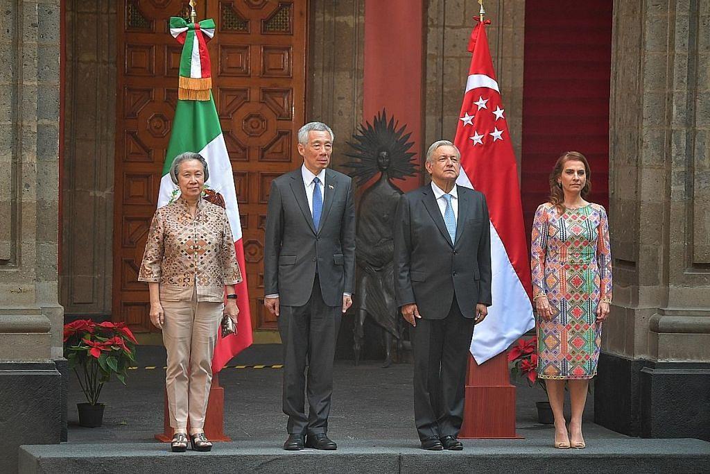 Walau dipisah laut dan benua, hubungan S'pura-Mexico tetap kukuh
