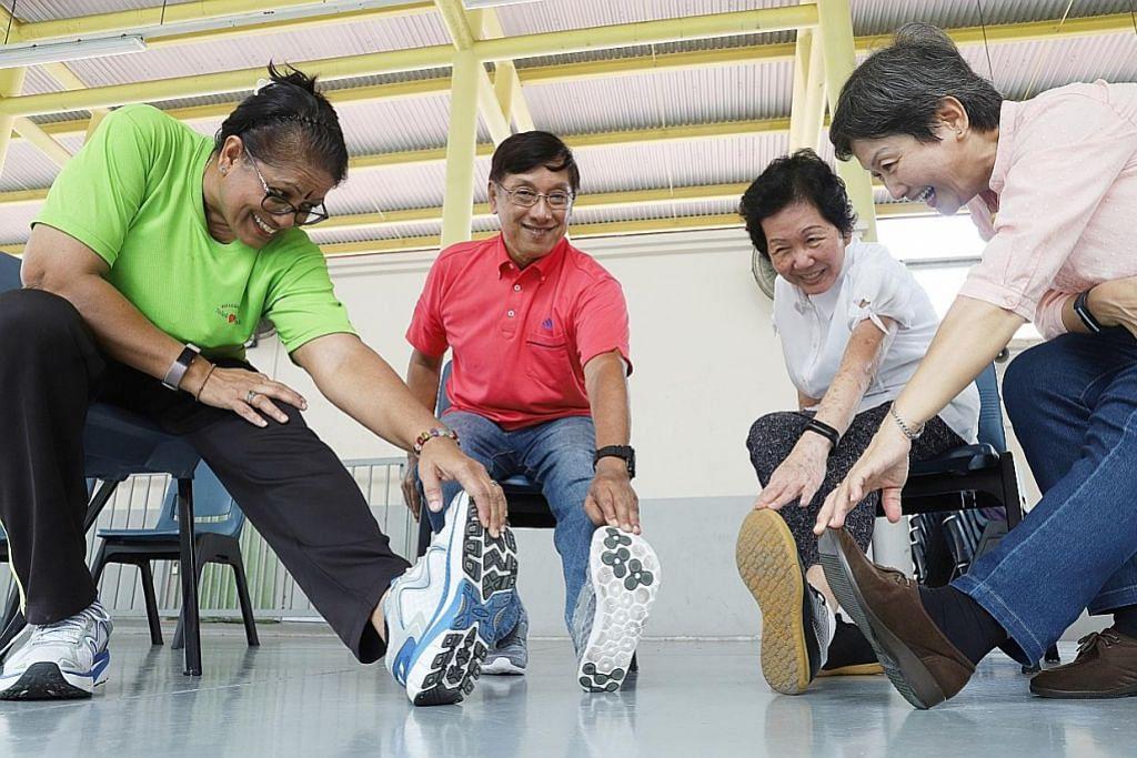 Gembira Program Happy jaya tingkat kecerdasan di usia senja