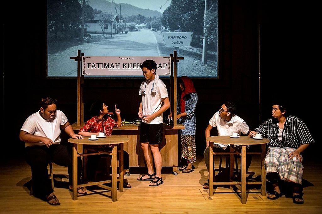 Teater coret kehidupan masyarakat Melayu era 1960-an