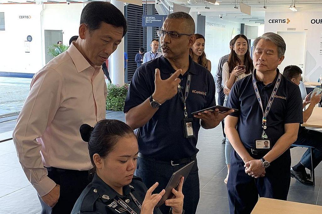 Peluang staf Certis ikuti kursus berasas realiti maya di universiti