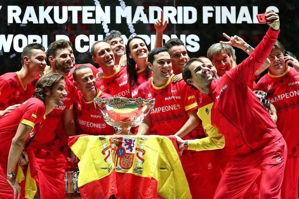 Sepanyol juarai Piala Davis