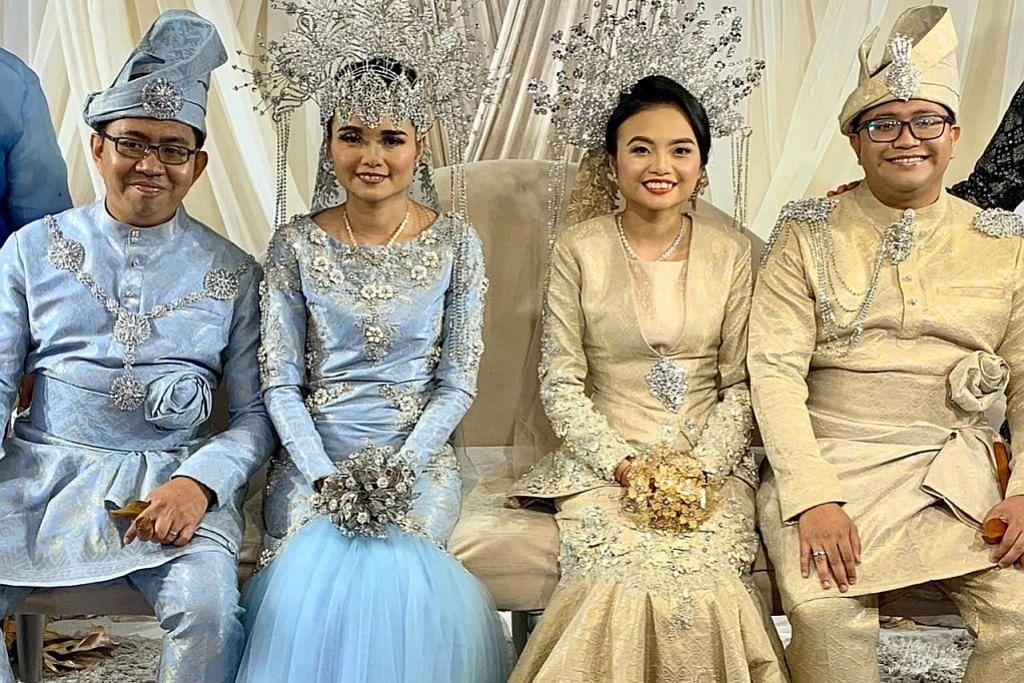 Laporan halal hab pertama di S'pura; kembar jadi isteri dua beradik jadi tumpuan