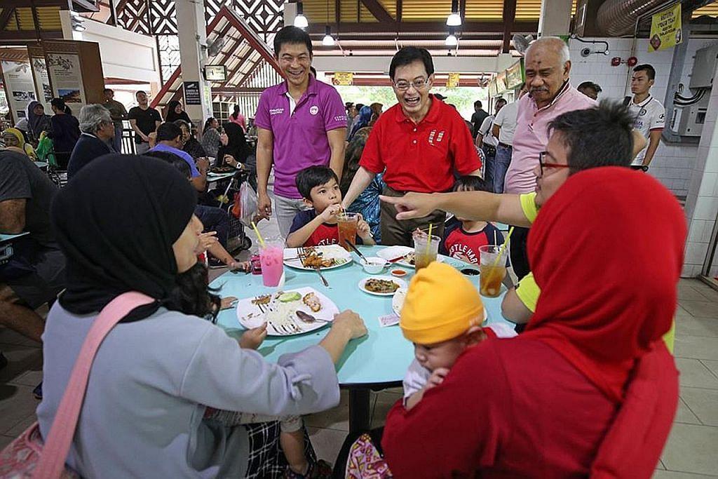 DPM Heng bertemu penduduk di Geylang Serai