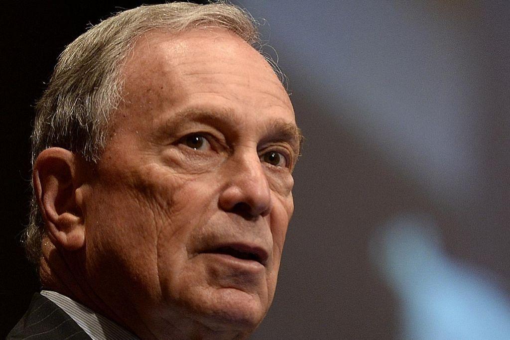 Bloomberg calonkan diri bagi jawatan Presiden AS