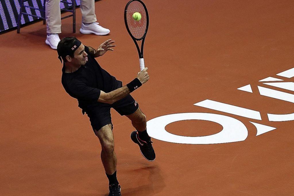 Federer tidak berhasrat untuk bersara