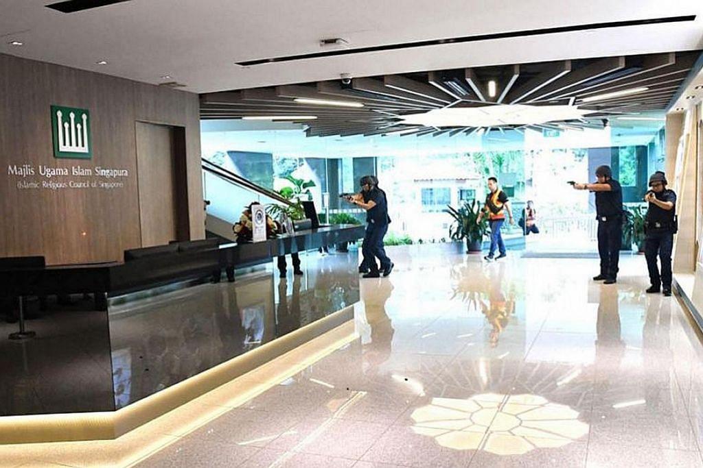 Hab Islam Singapura jalani latihan antipengganasan
