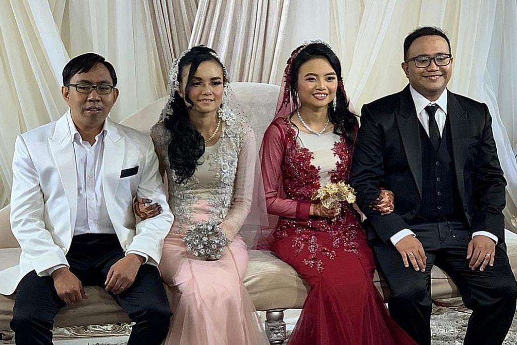 Perkahwinan pasangan kembar dapat tumpuan