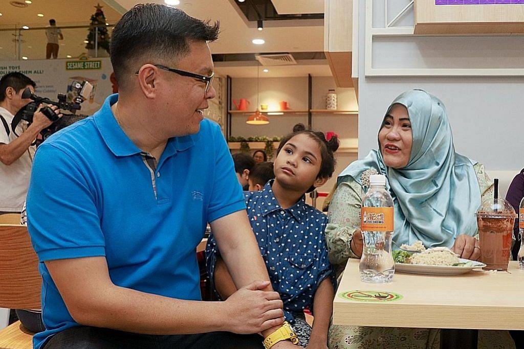 PPIS bawa keluarga memerlukan nikmati sajian di restoran Encik Tan