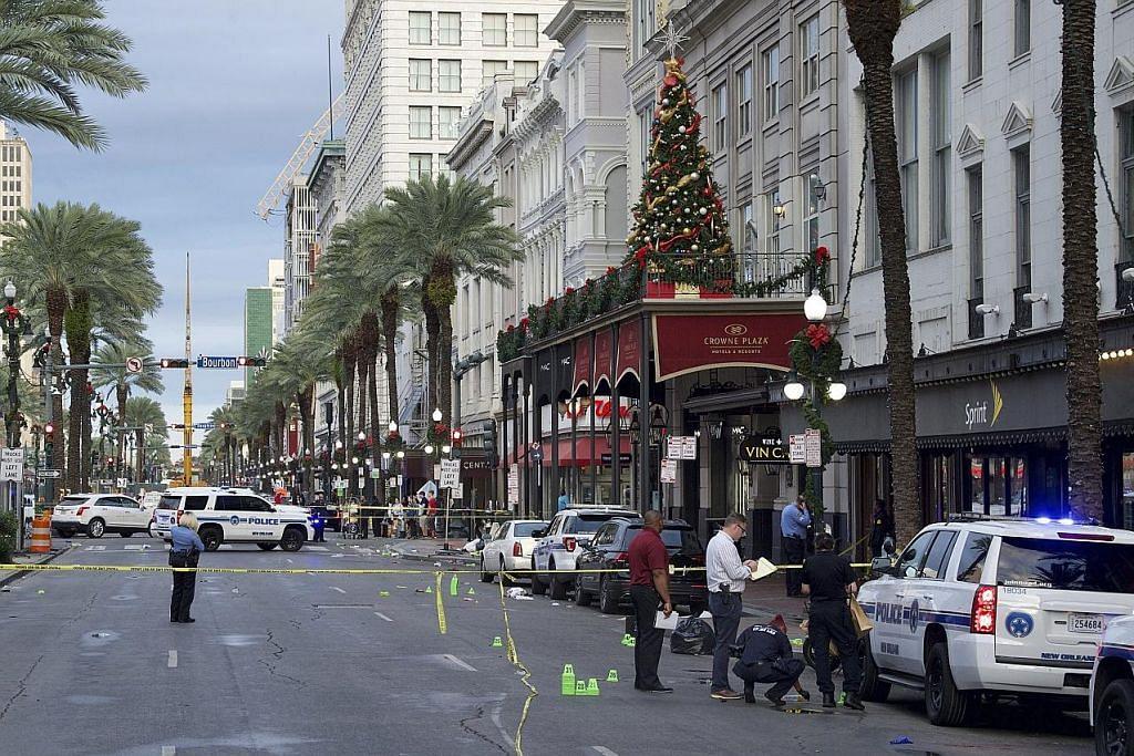 10 cedera dalam insiden tembakan di New Orleans