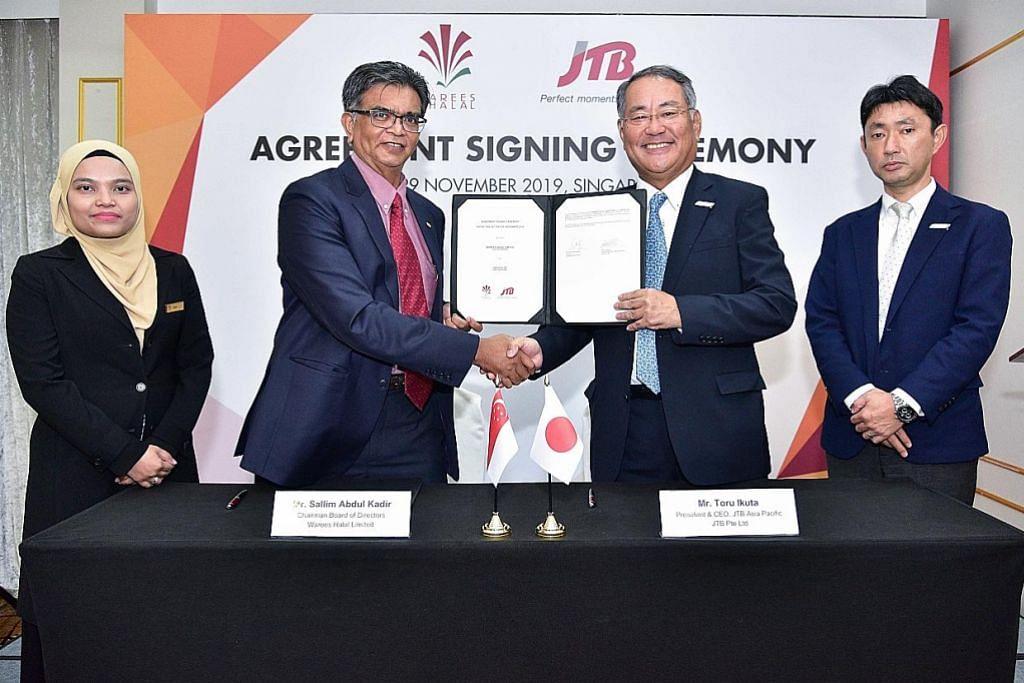Warees, JTB kerjasama bantu firma manfaat pasaran halal Jepun