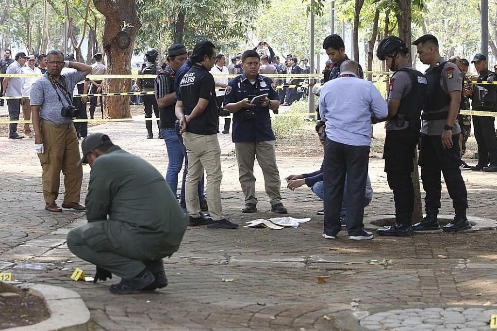 2 askar cedera dalam letupan di Jakarta