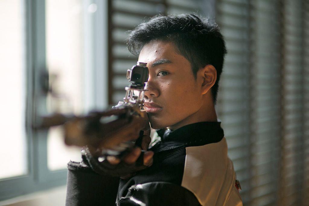 Menembak: Irwan raih gangsa